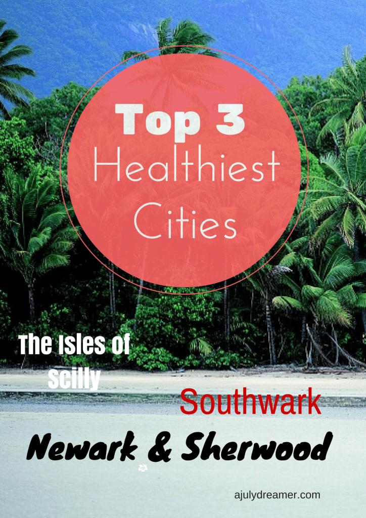 healthiest cities