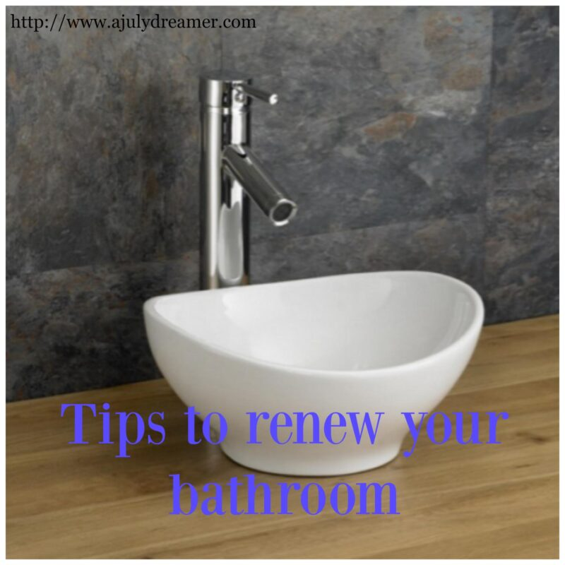 Lifestyle tips to renew your bathroom a july dreamer for Renew bathroom