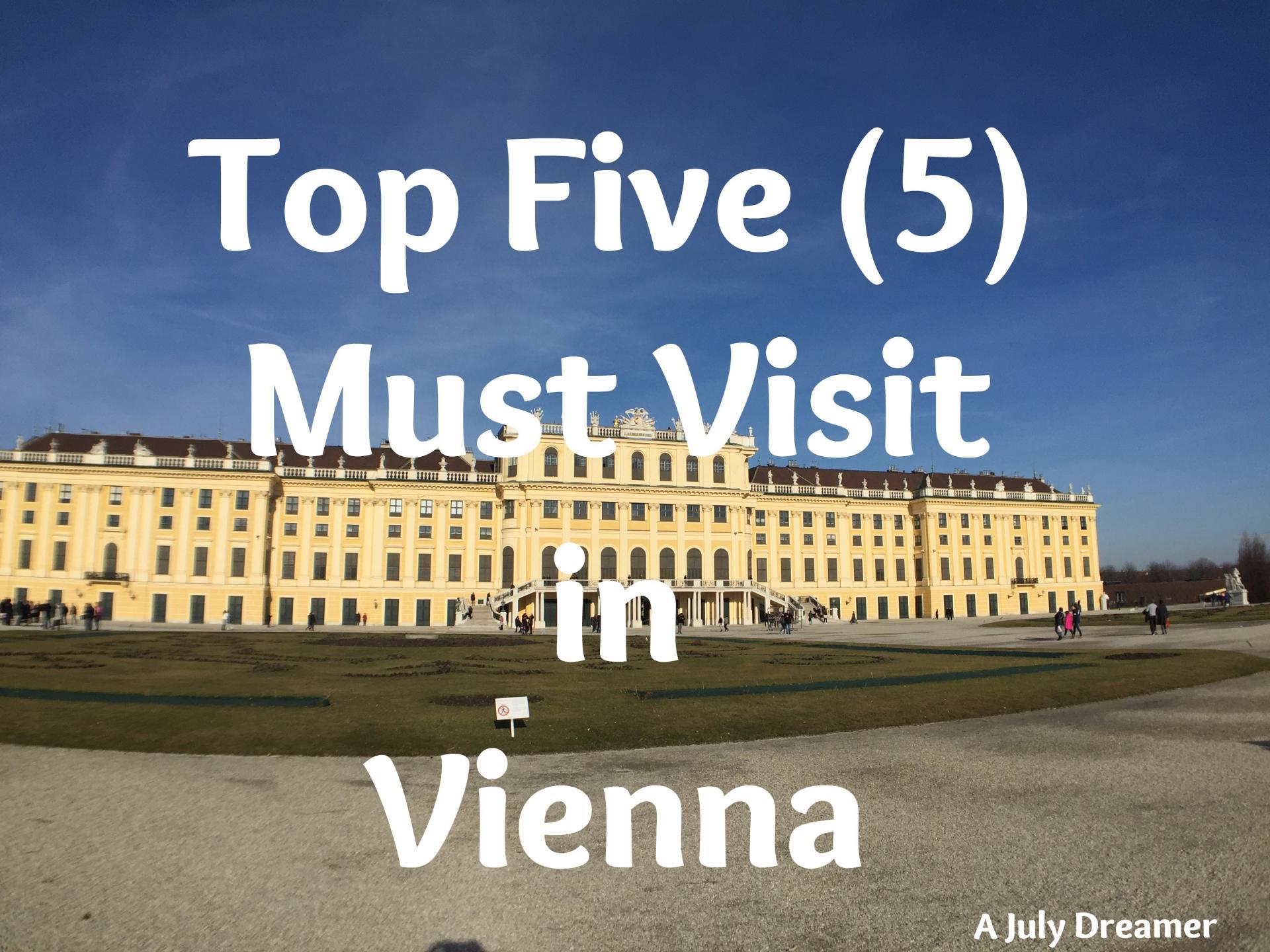 must visit in Vienna