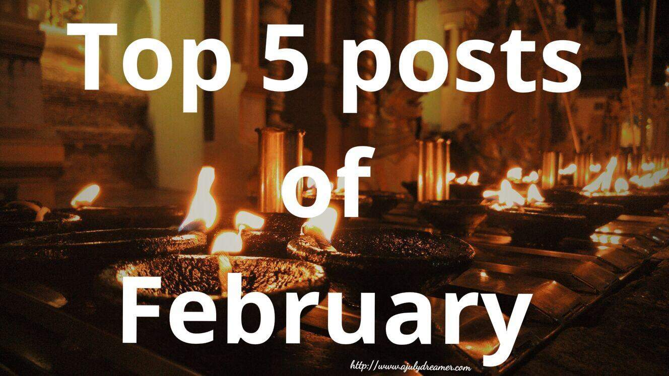 top 5 posts of February