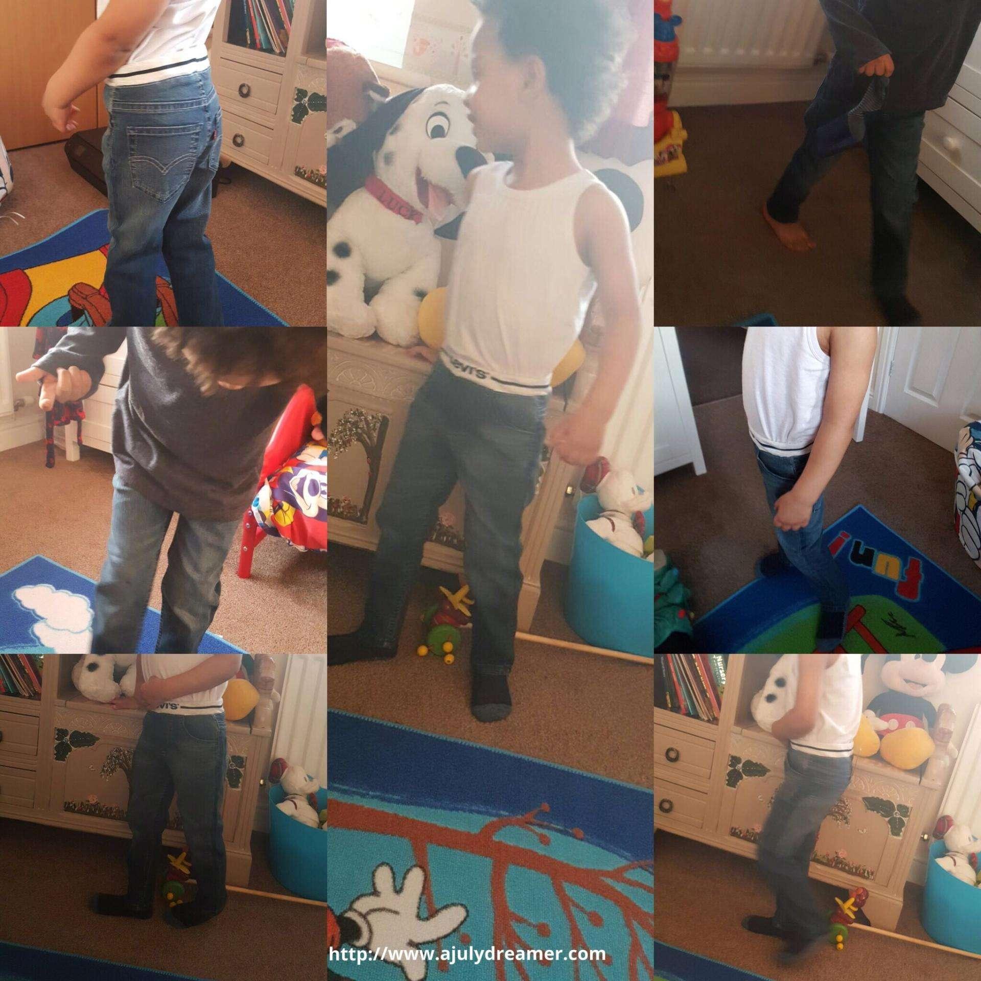 House of Fraser Levi's kids jeans