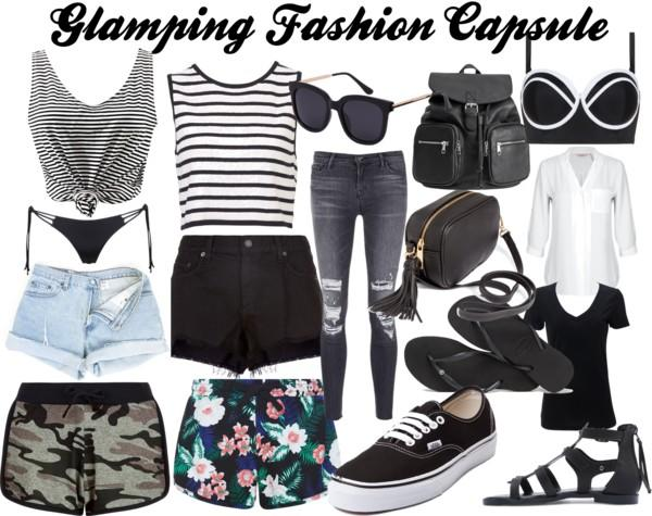 Glamping fashion capsule