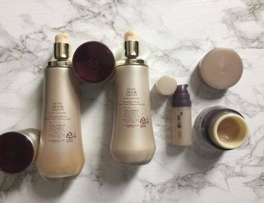 summer face routine