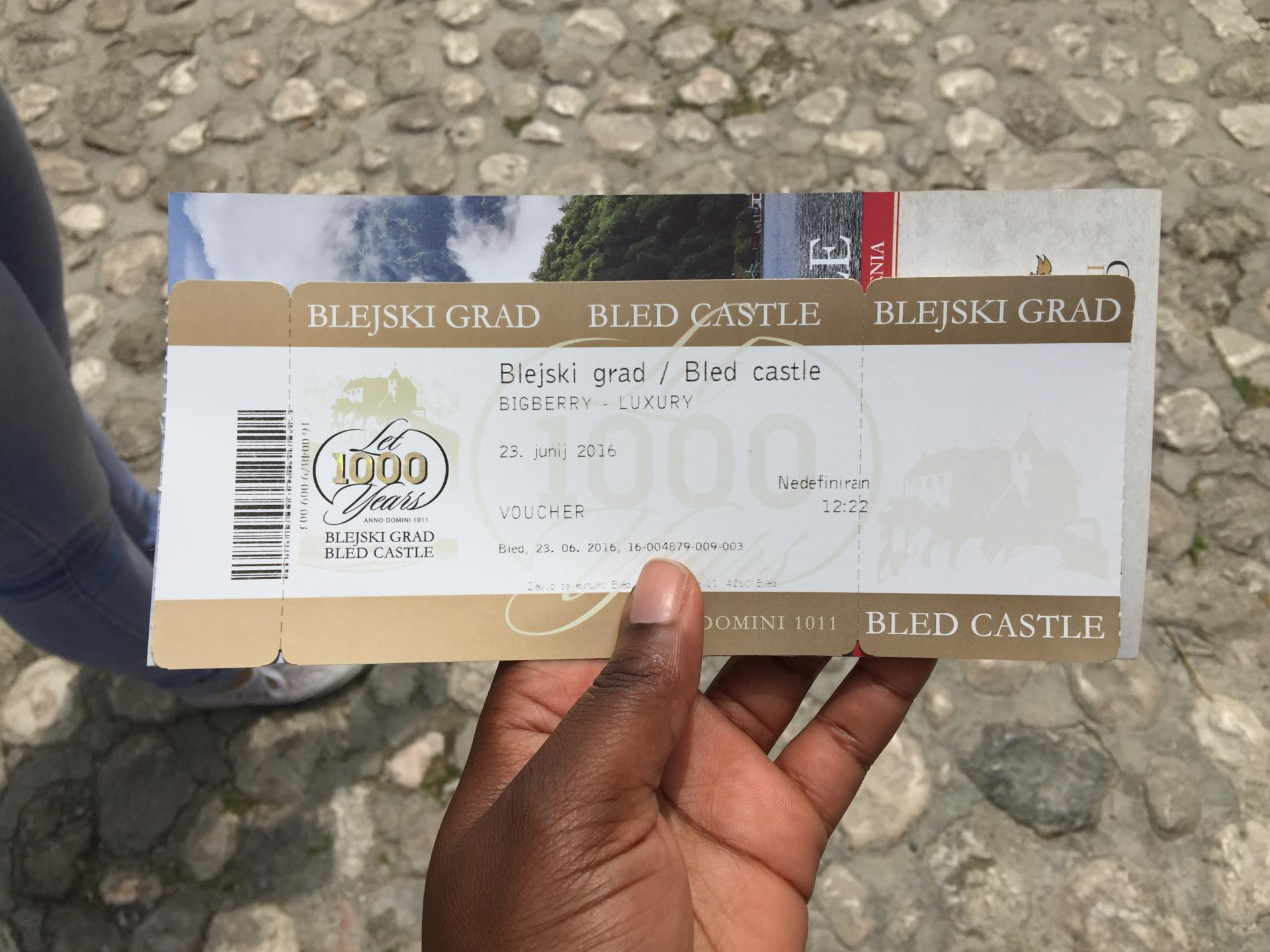Bled Castle Ticket, Slovenia