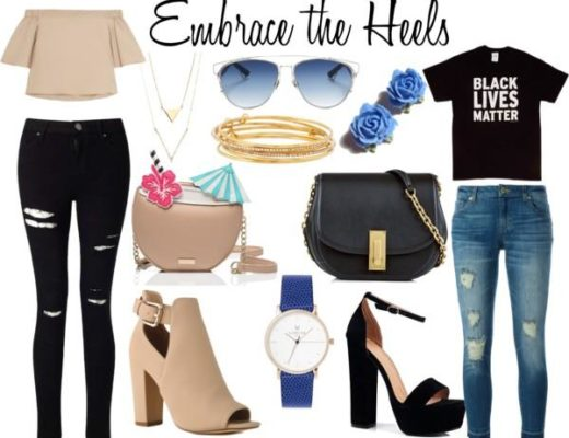 embrace the heels
