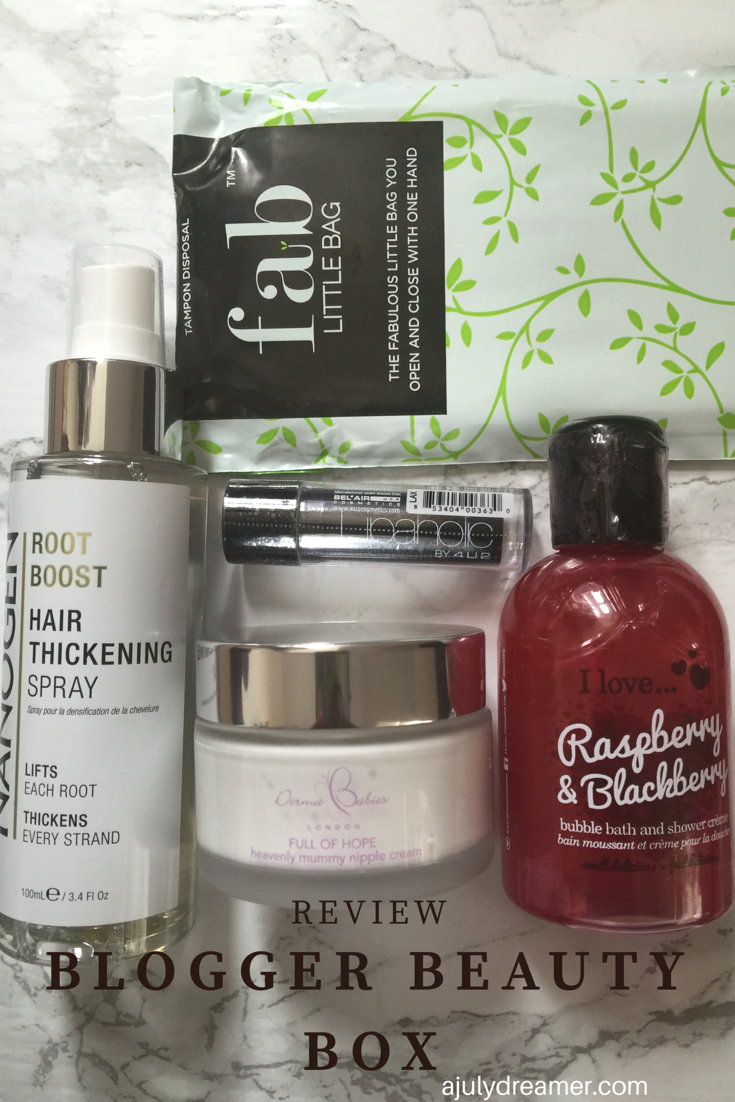 blogger beauty box