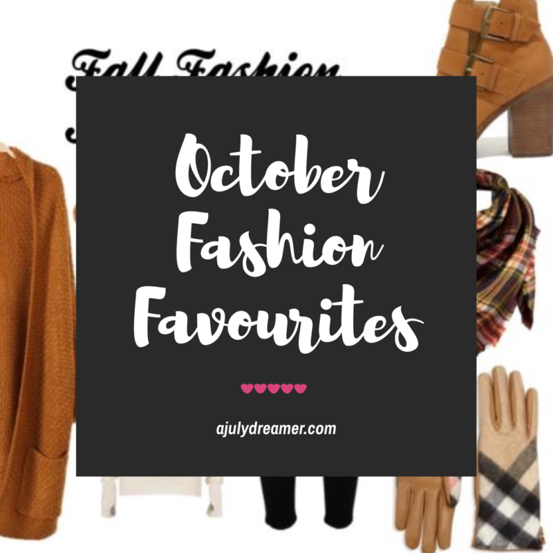 october fashion favourites