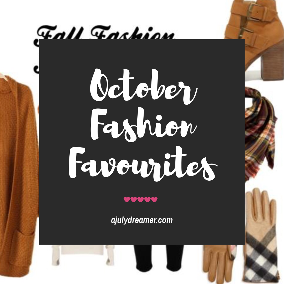 october fashion favourites