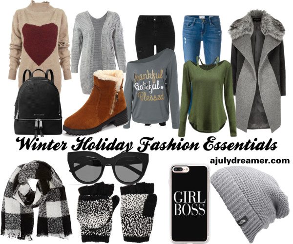 Winter Holiday Fashion Essentials