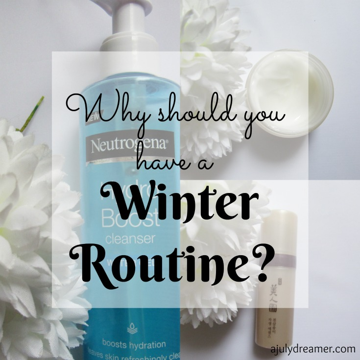 Why should you have a winter routine