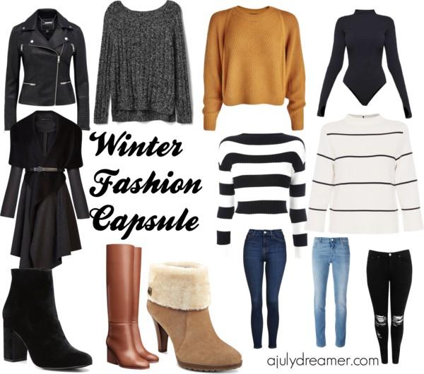 winter fashion capsule