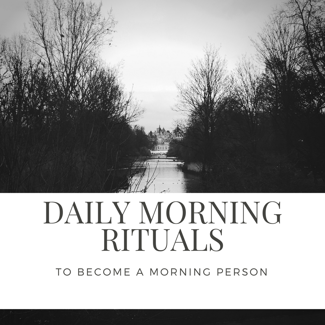 daily morning rituals