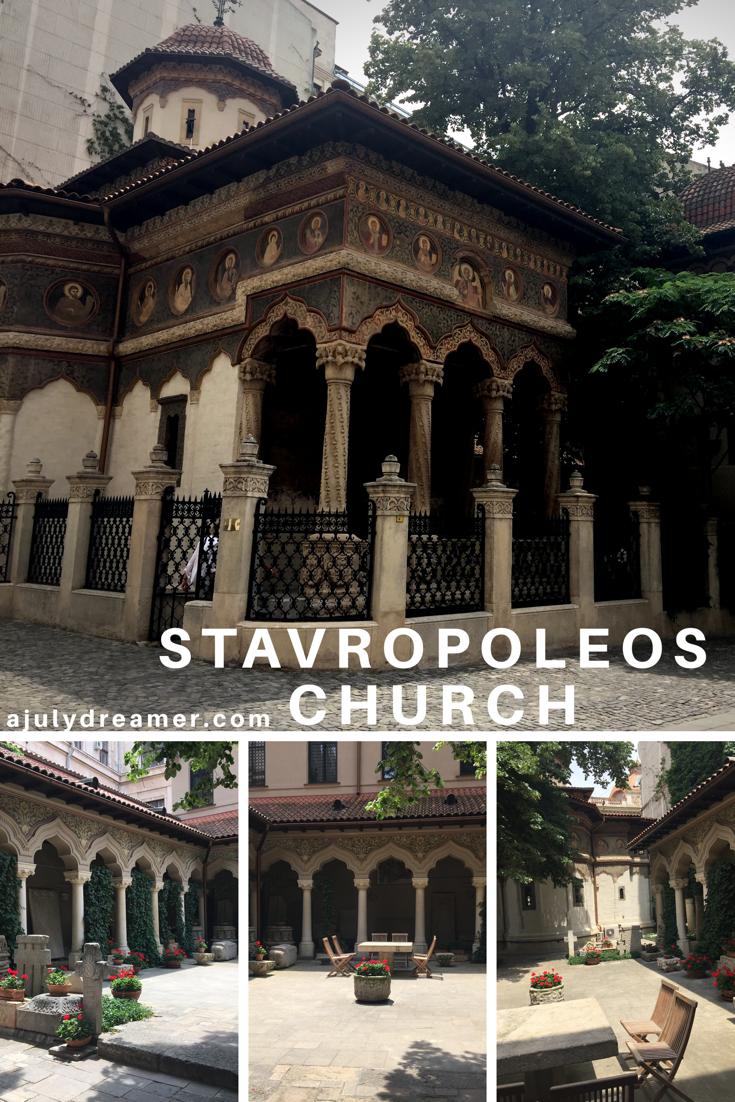 Bucharest, Stavropoleos Church
