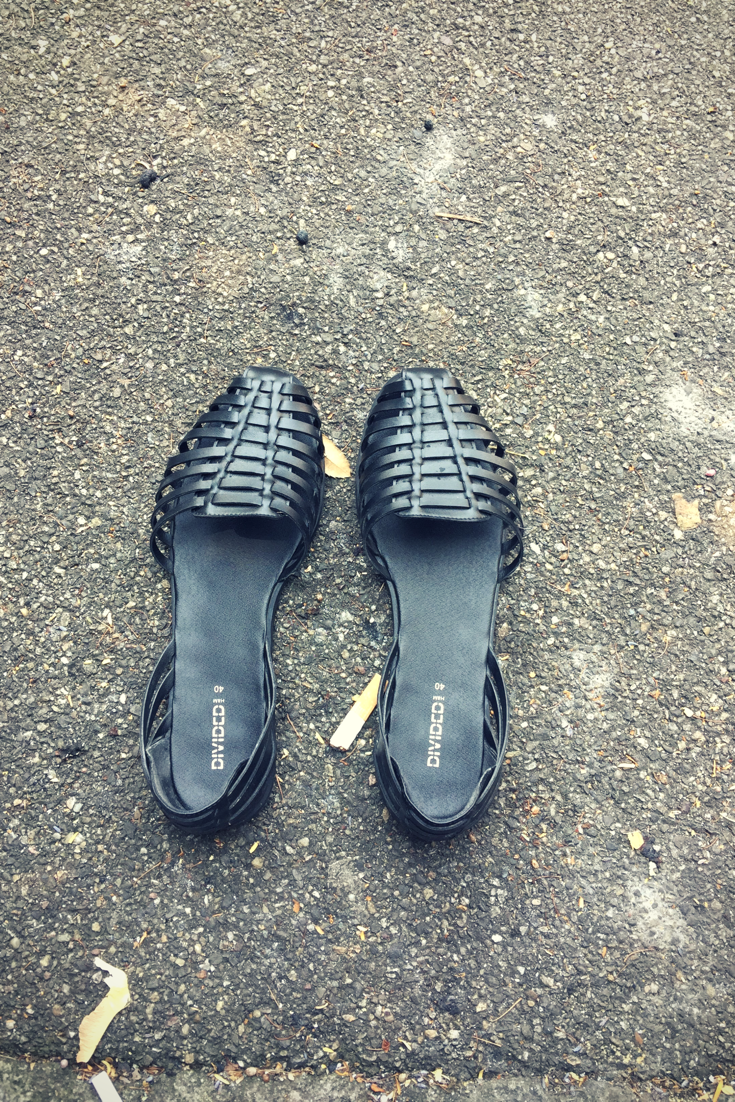 All Black - H&M shoes