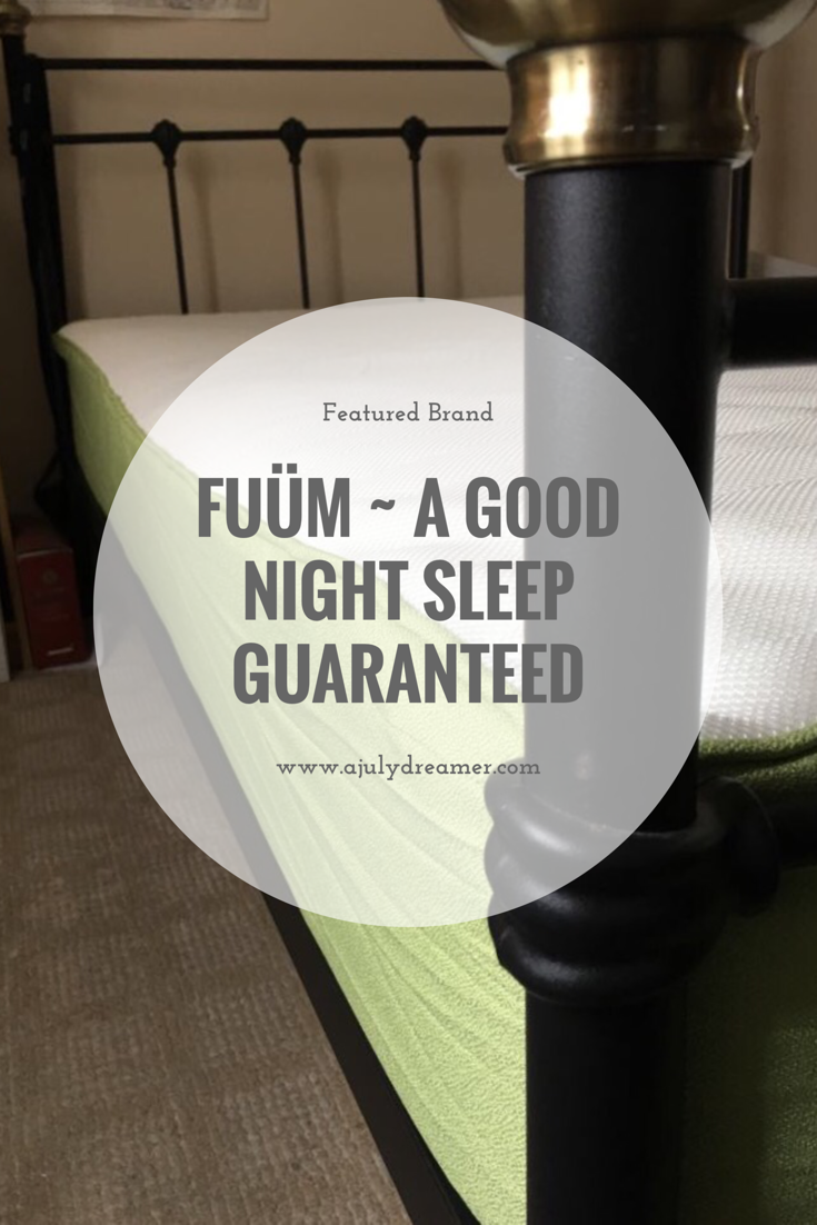 {Featured Brand} FUÜM – A good night's sleep guaranteed