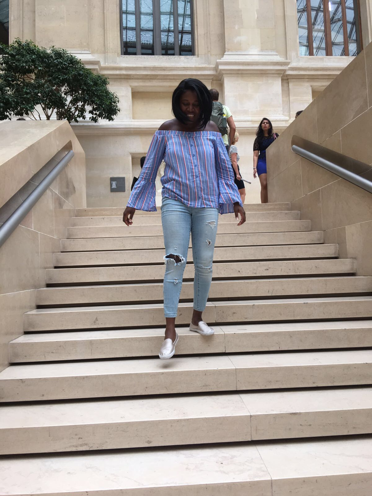 {Fashion Monday} Styling off-Shoulder Ruffled Bell Tops