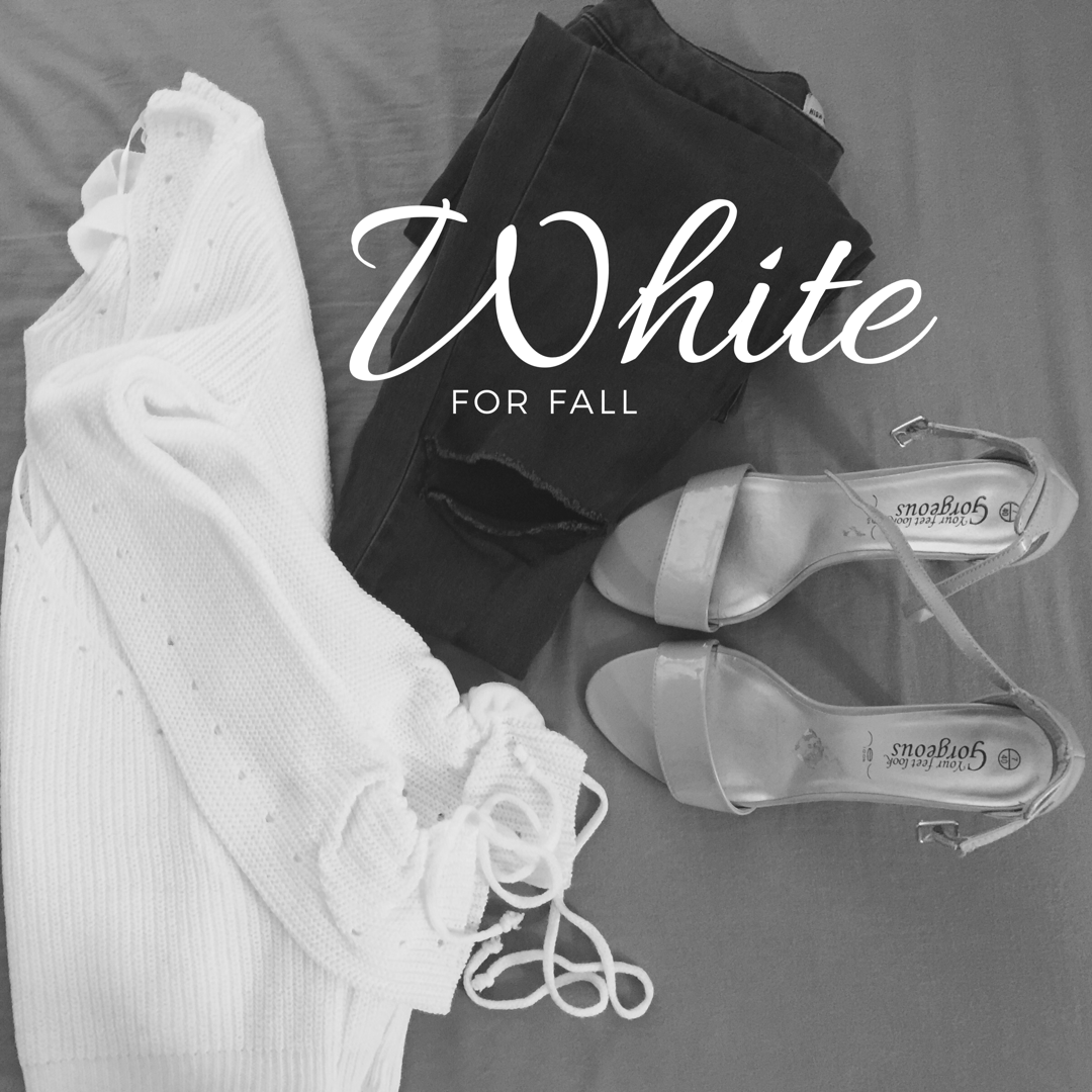 White for Fall