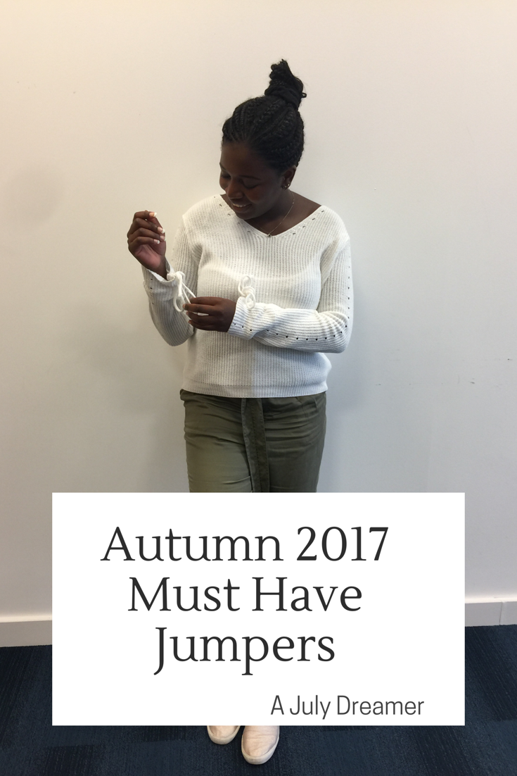Autumn 2017 Must Have Jumpers