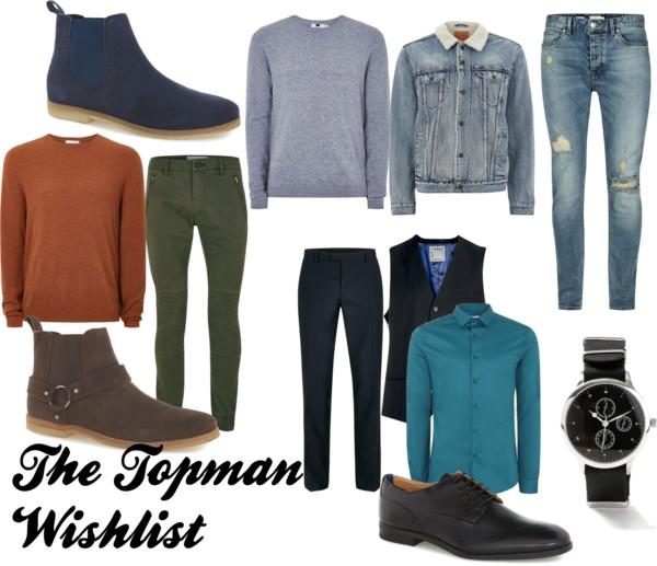 {Men's Fashion} The Topman Wishlist