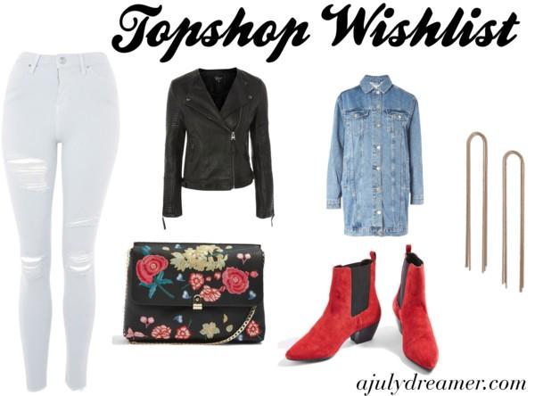 topshop wishlist