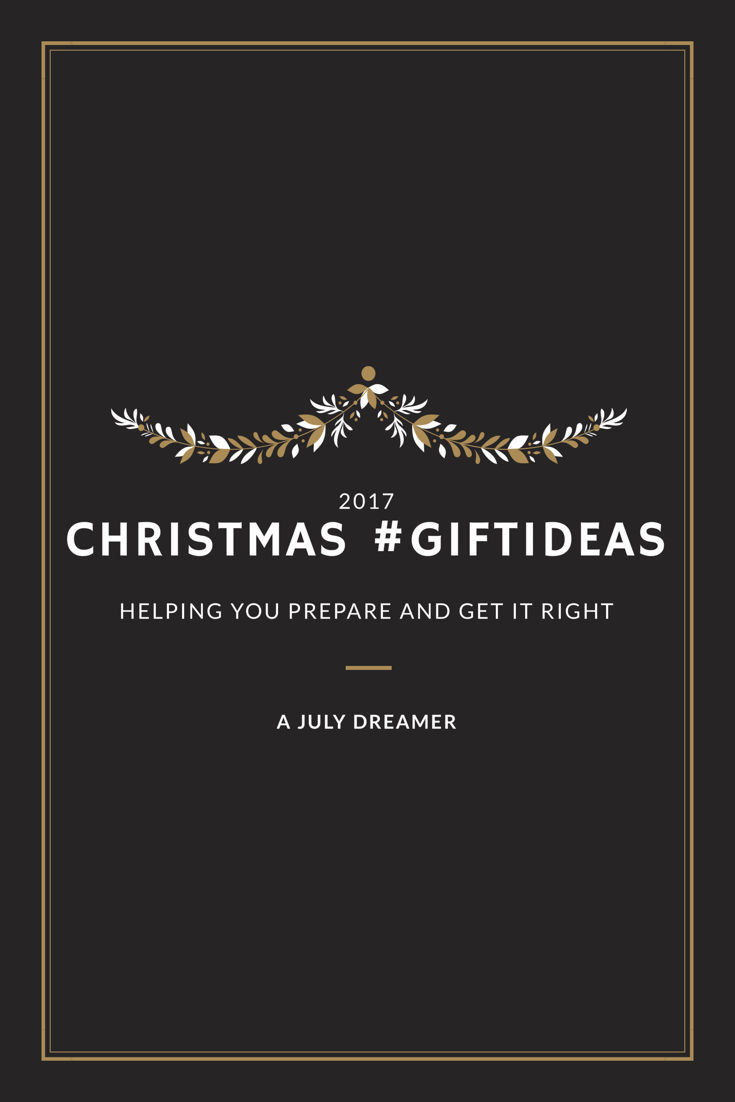 {Christmas 2017 #giftideas} How-to get the best present for Christmas #OneLessWorry