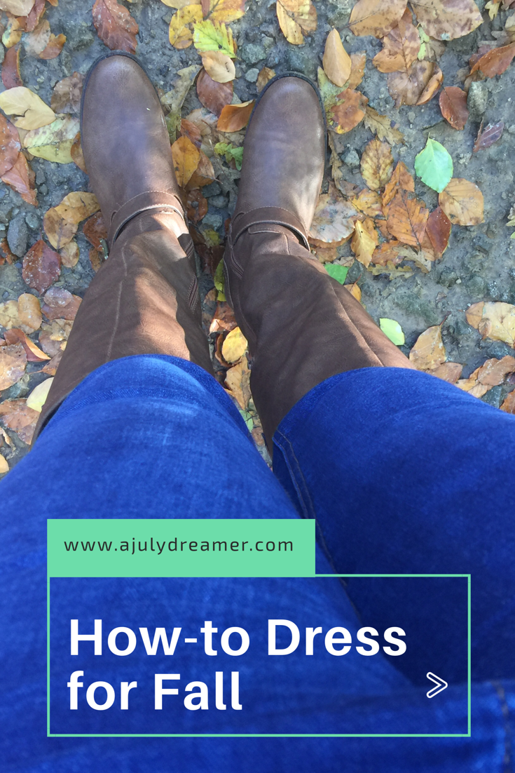 {Fashion Monday} How-to dress for fall