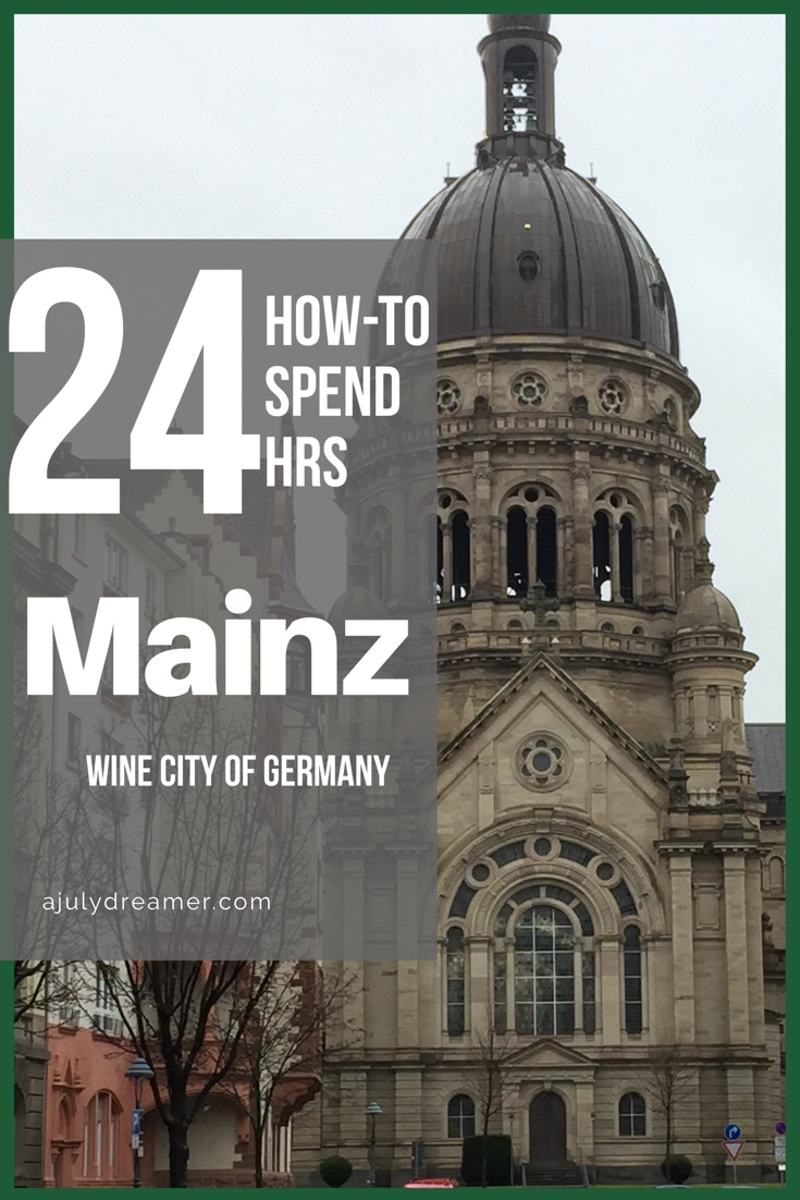 How to Spend a Day in Mainz #solo adventures