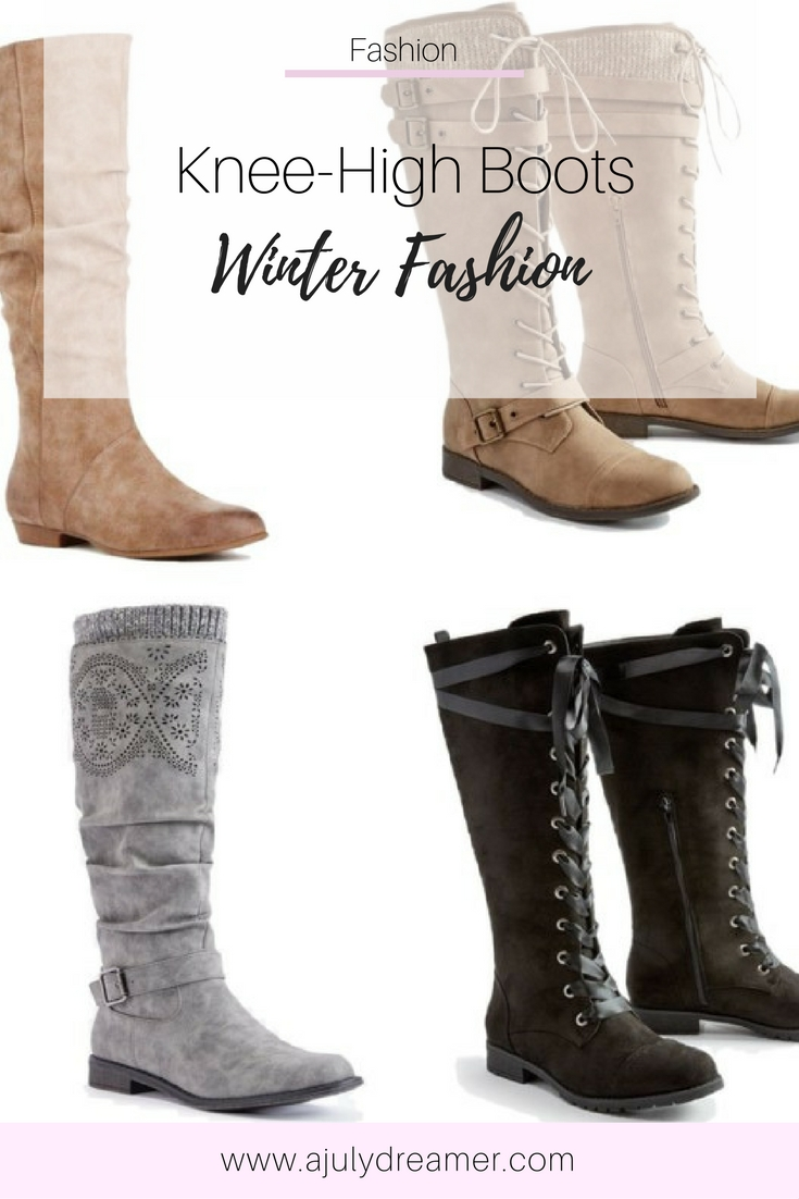 {Fashion Monday} Knee High Boots - Winter Essentials ⋆ A