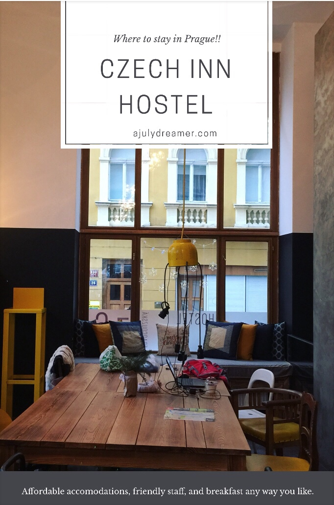 Where to stay in prague czech inn hostel a july dreamer for Best location to stay in prague
