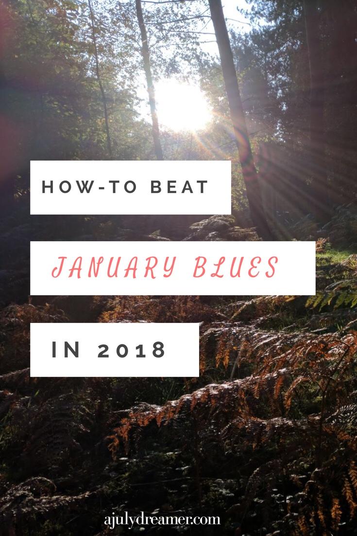 January Blues, how-to beat January Blues