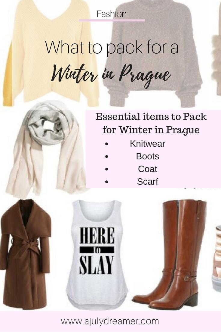 pack winter Prague