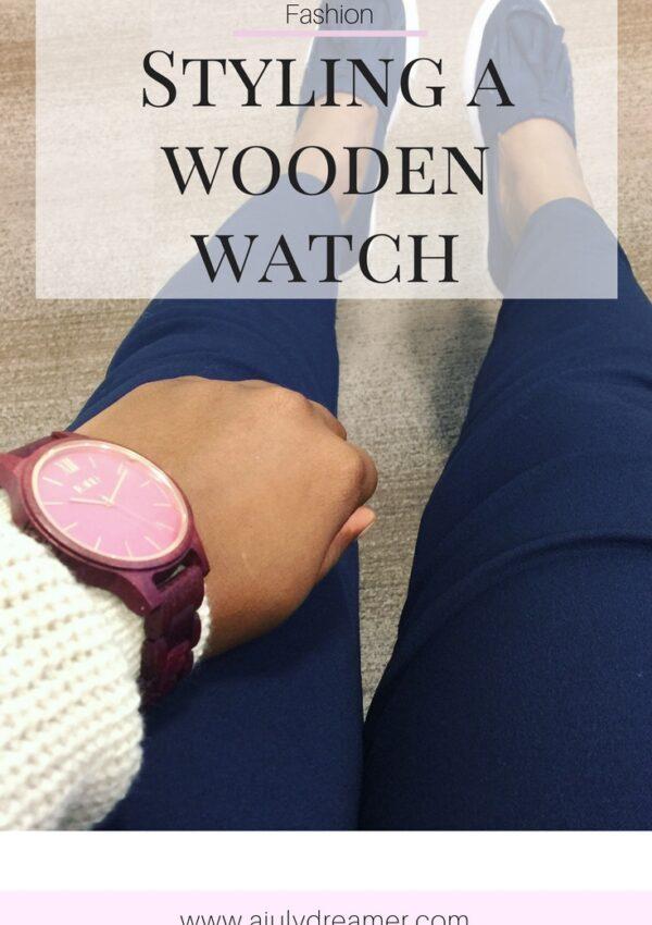 JORD Wooden Watch