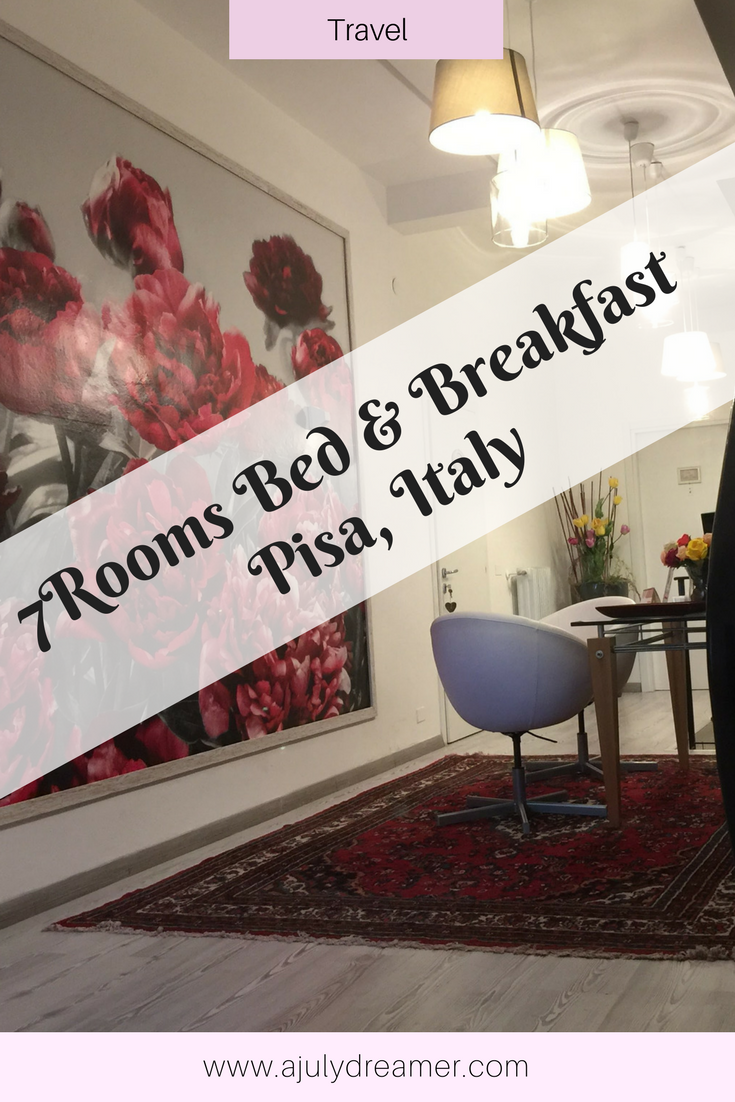 Where to stay in Pisa: 7Rooms Bed and Breakfast