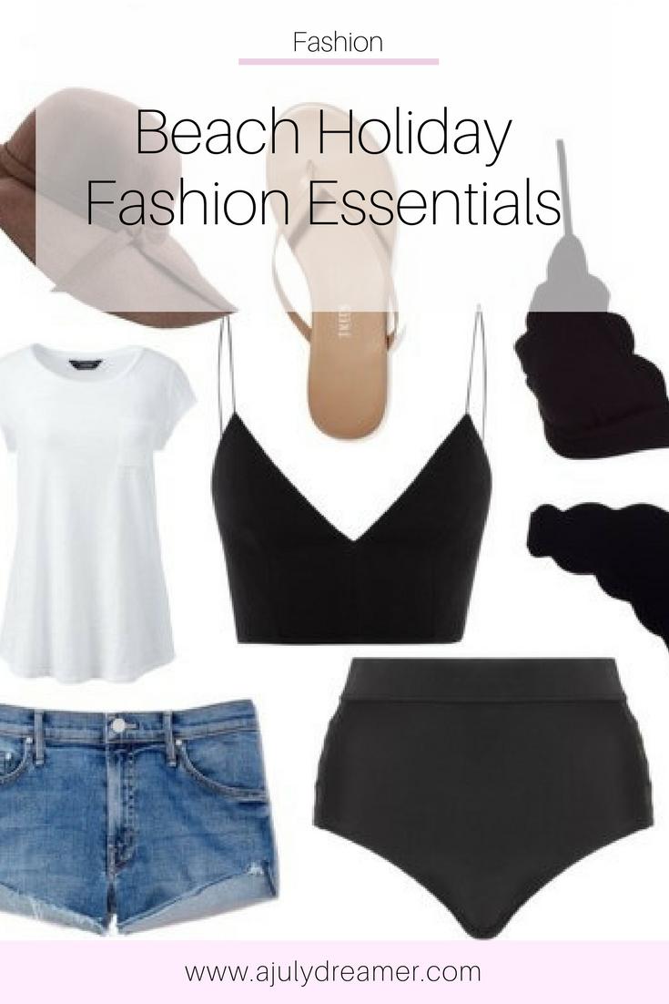 {Fashion Monday} Beach Holiday Fashion Essentials