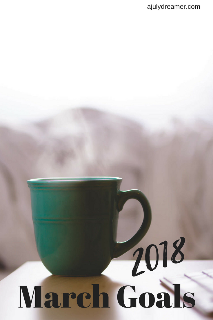 {Monthly Series} March 2018 Goals