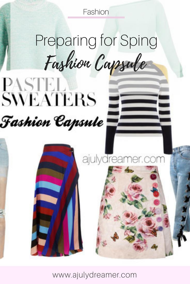 {Fashion Monday} Spring 2018 Fashion Capsule