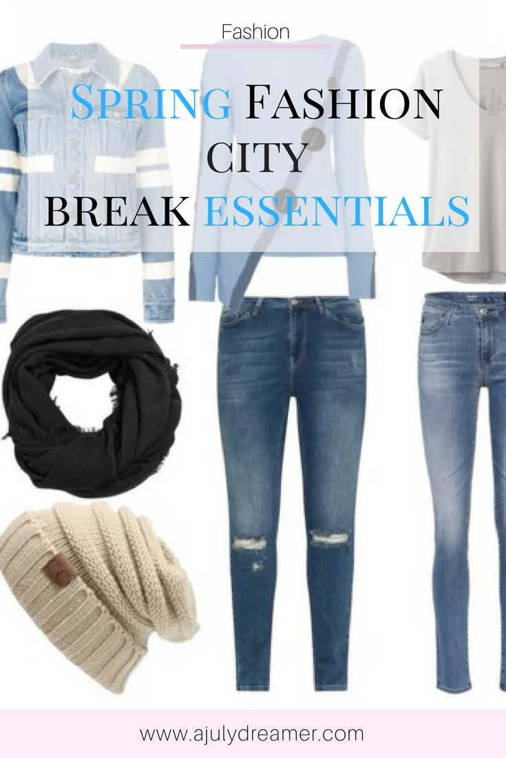 What to pack for a Spring City Break