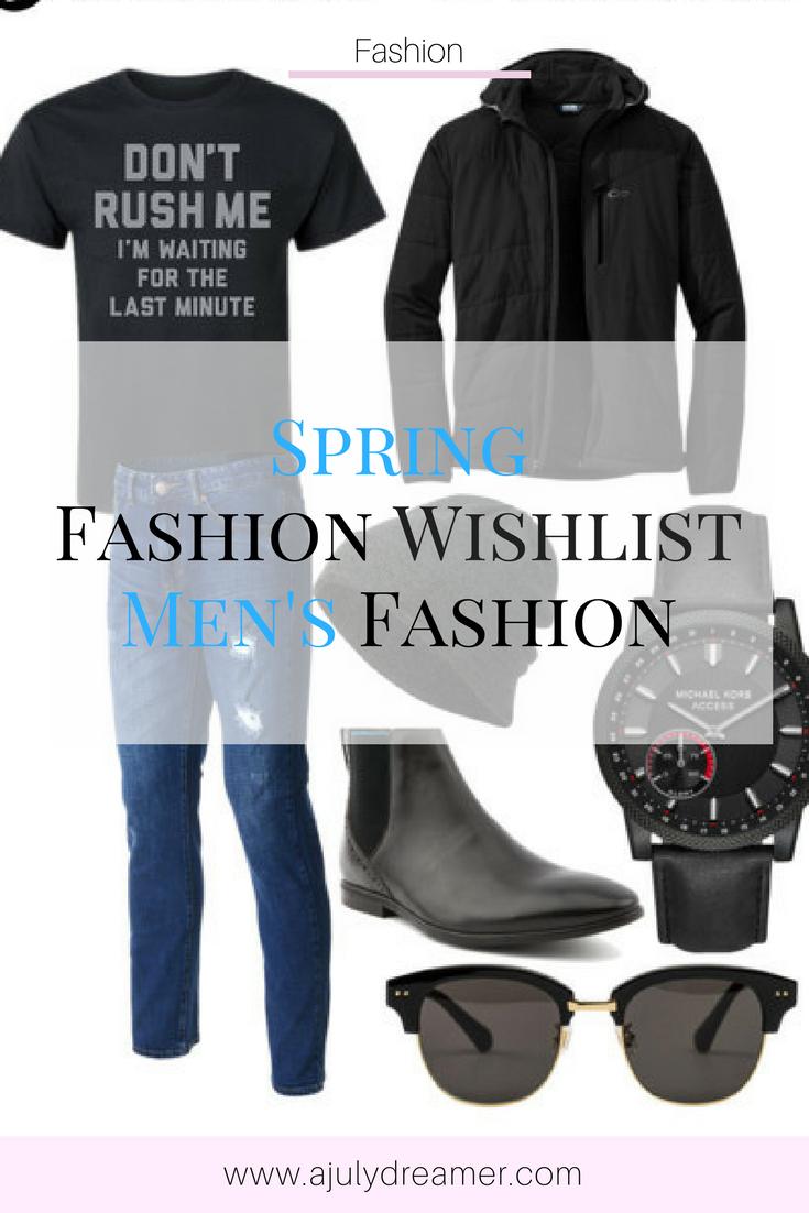 {Men's Fashion} Spring Fashion Wishlist