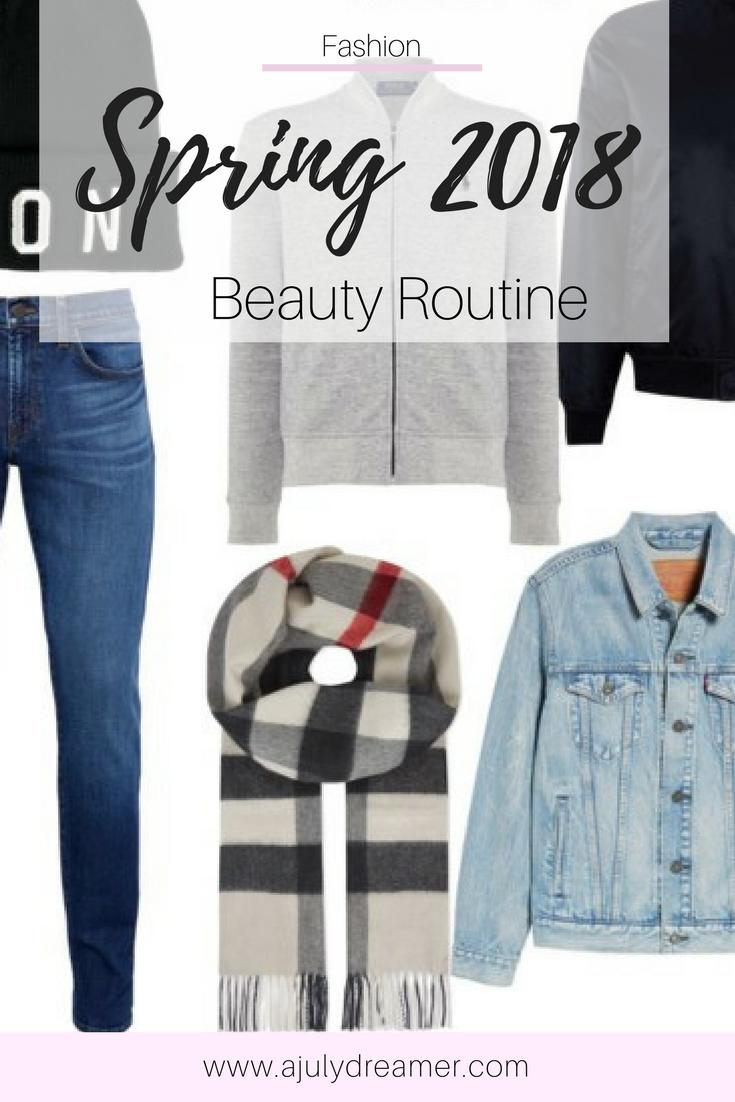 Springtime mens Fashion Capsule