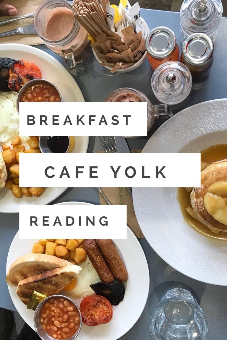 Breakfast at Cafe Yolk Reading