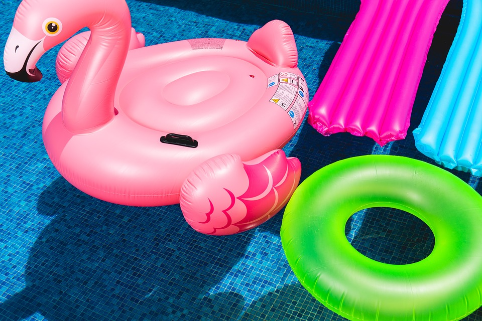 Pool Toys of the Rich and Famous