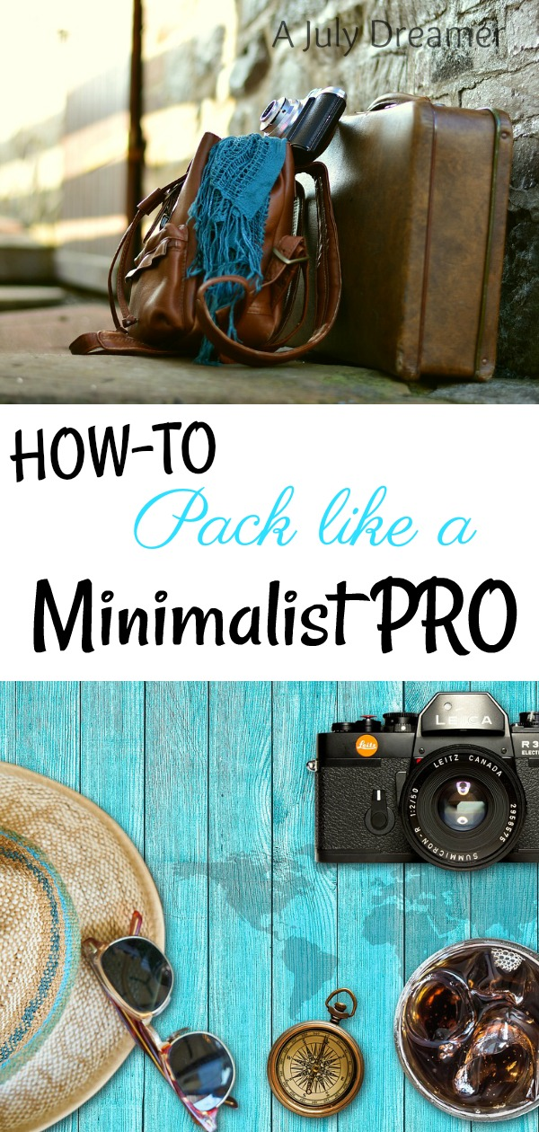 howto pack like a pro