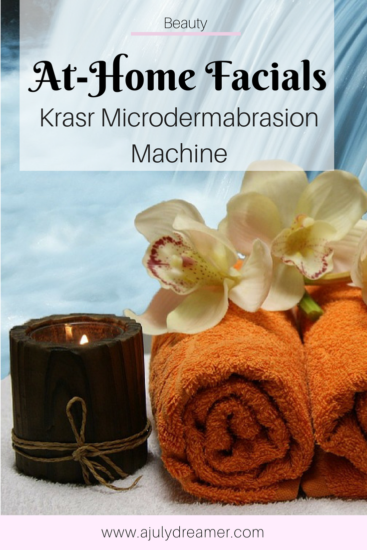 At-Home Facials with Krasr Microdermabrasion Machine