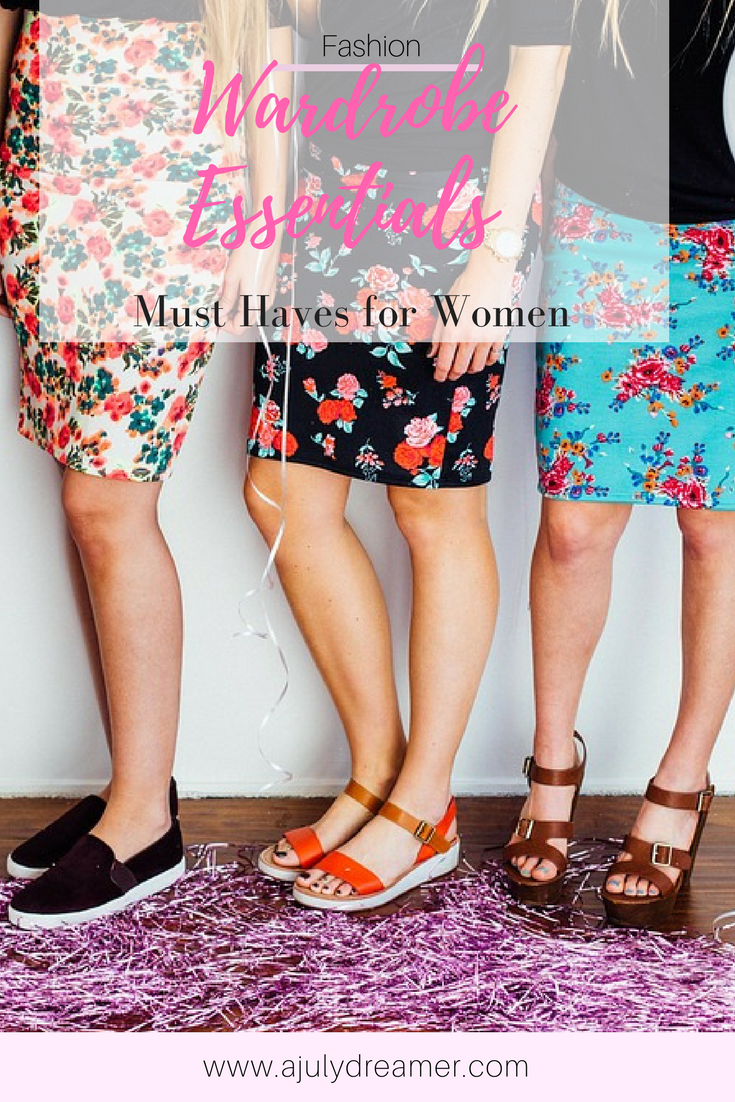 5 wardrobe essentials every woman should have