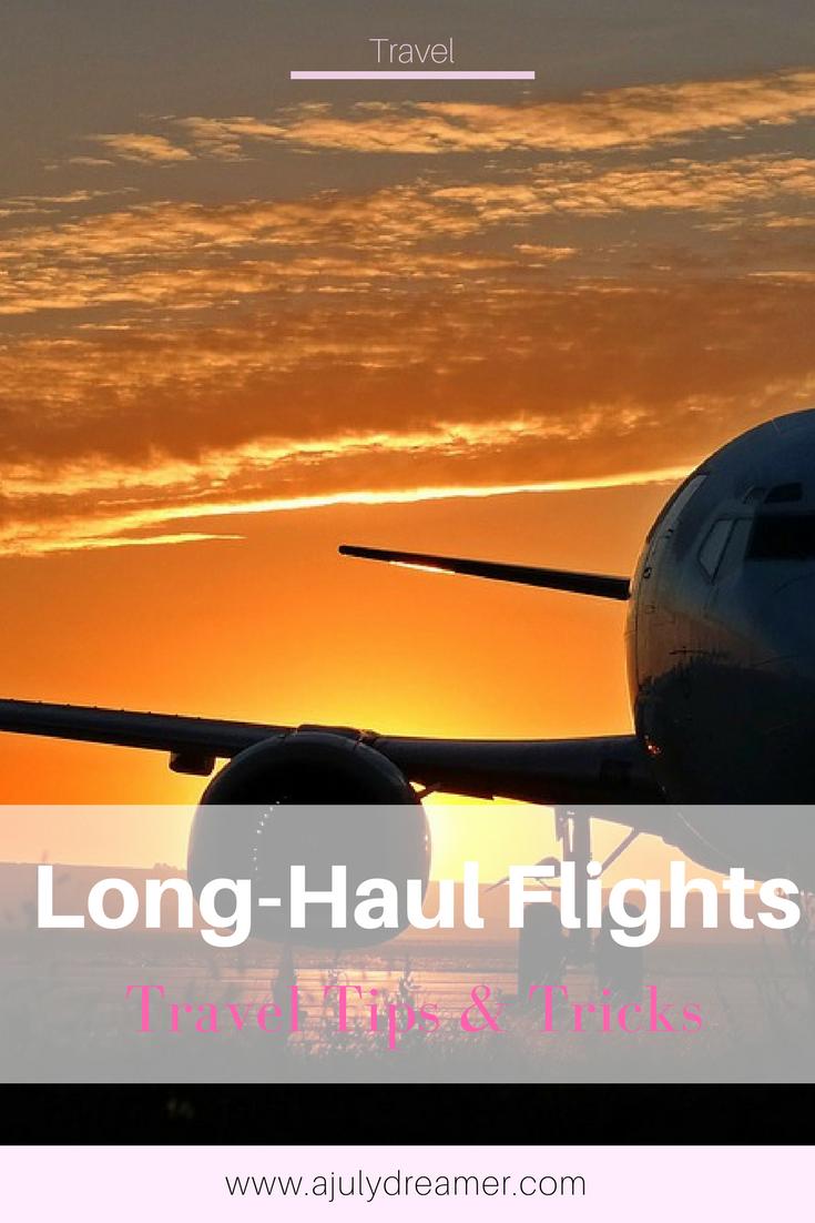 7 ways to enjoy a long haul flight