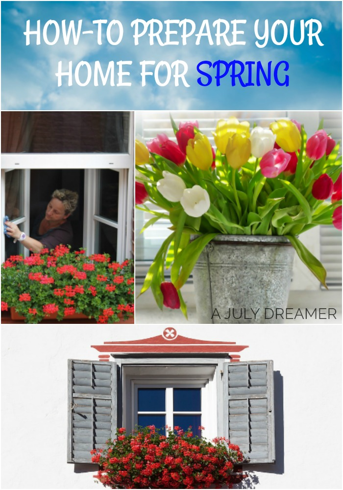 How-to prepare your home for Spring Season