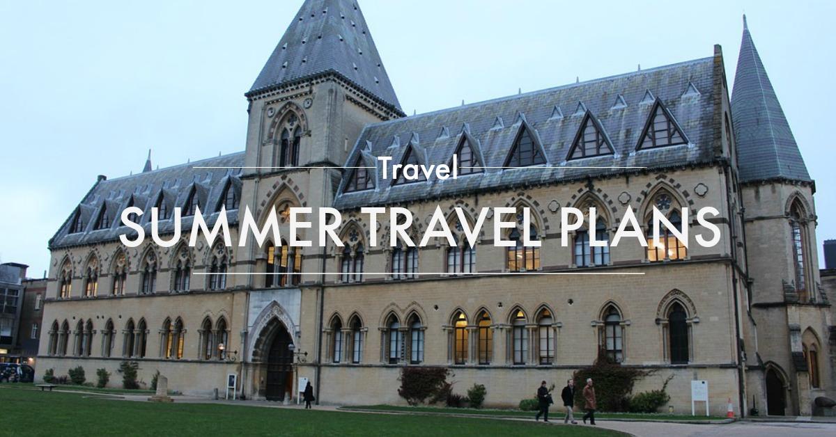 summer travel plans