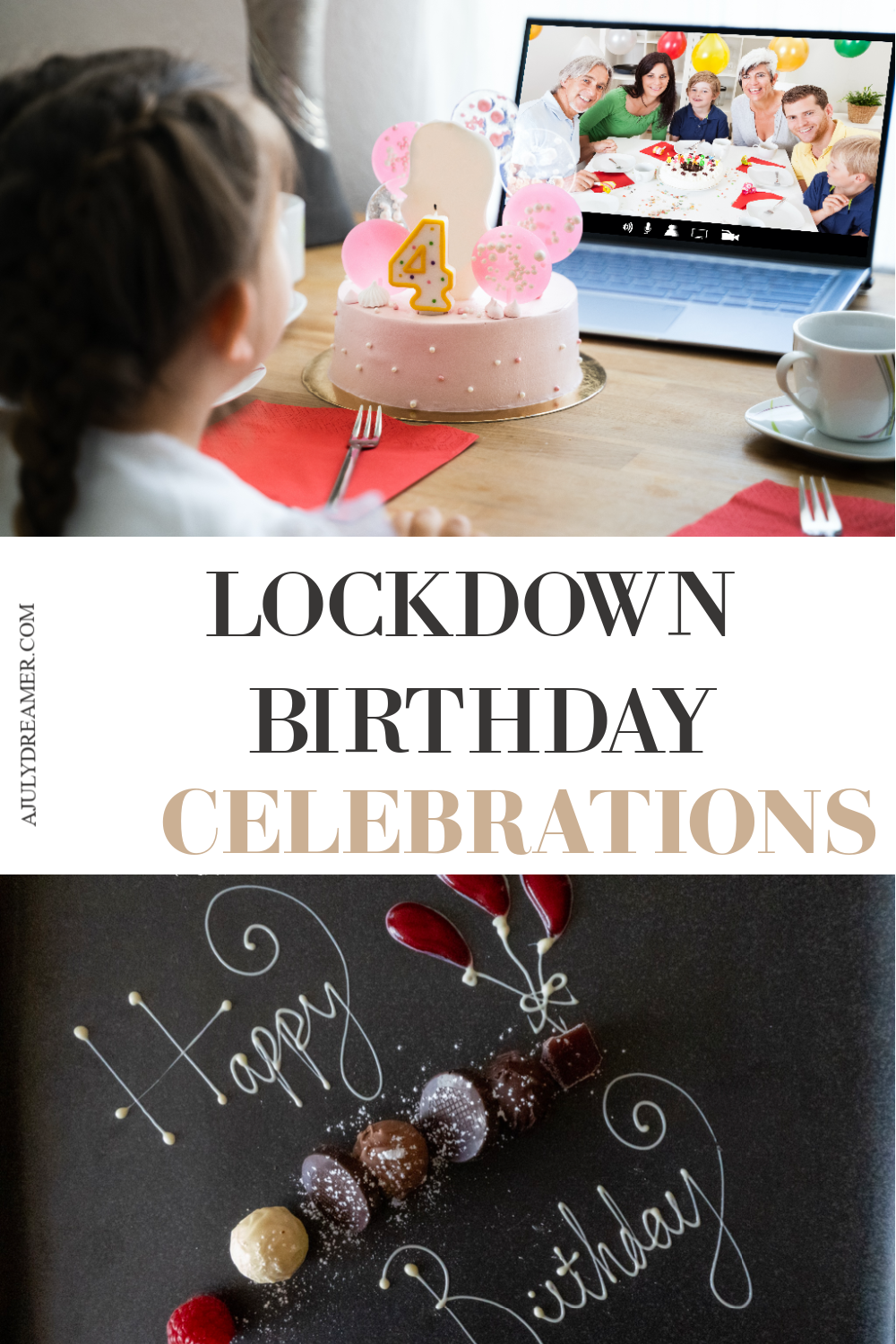 how to celebrate a birthday in lockdown
