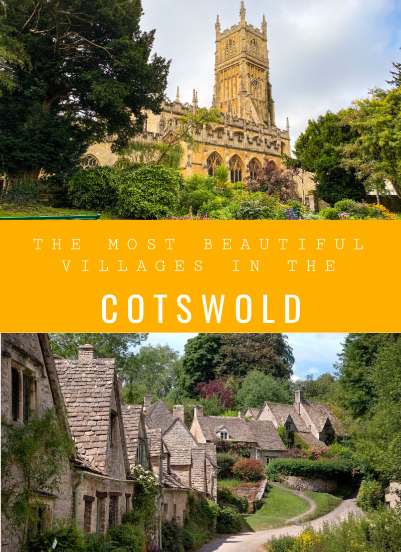 The most beautiful villages in the Cotswold