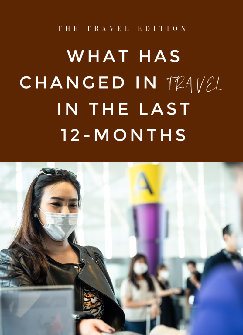 What has Changed in Travel in the Last 12-Months?